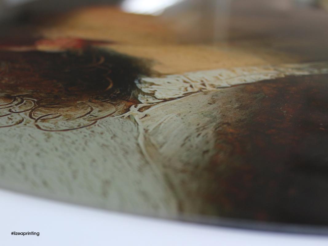 vetro stampato LIZEA - particolare